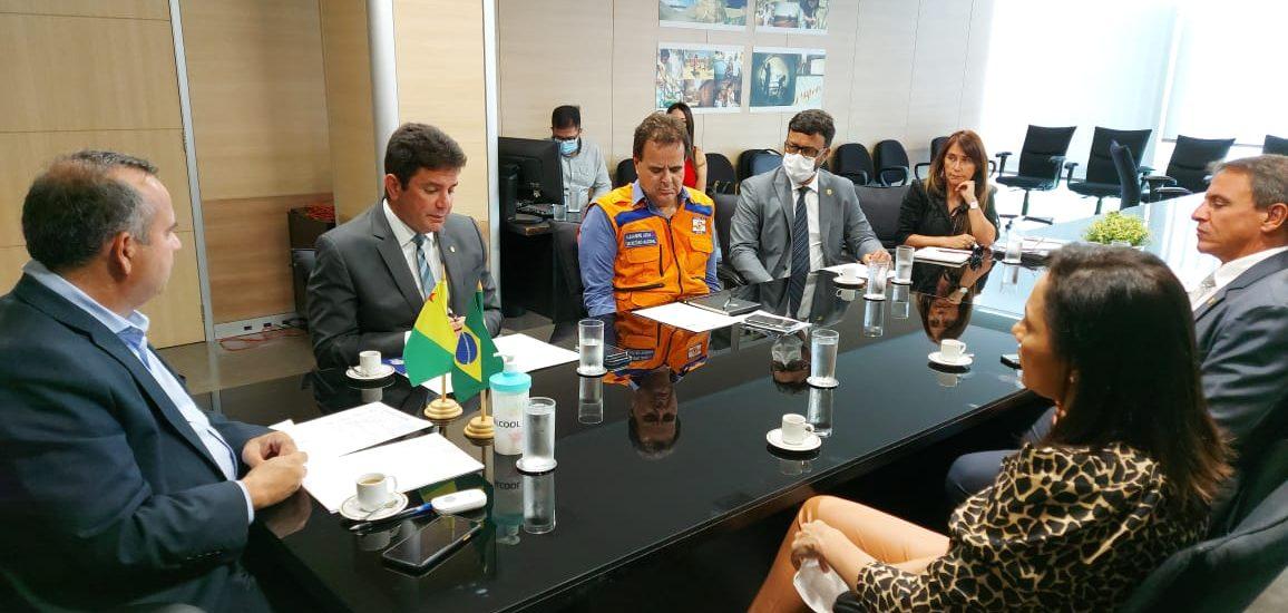 Gladson pede ao ministro do Desenvolvimento que reconheça estado de calamidade pública no Acre