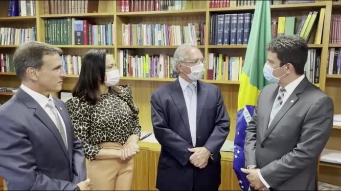 Ministro Paulo Guedes diz que Acre contará com apoio do governo federal para calamidades
