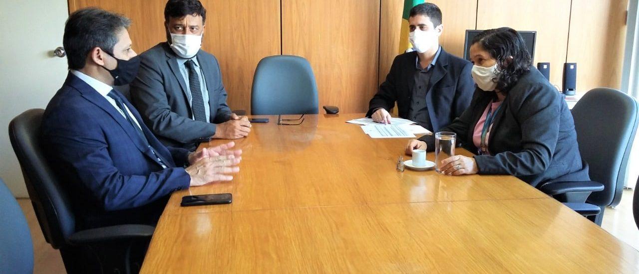 Governo busca apoio para o Acre junto à Secretaria do Tesouro Nacional